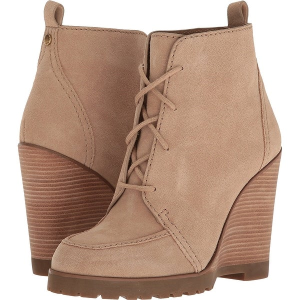 MICHAEL Michael Kors Womens Piper Suede Closed Toe Mid-Calf Fashion Boots