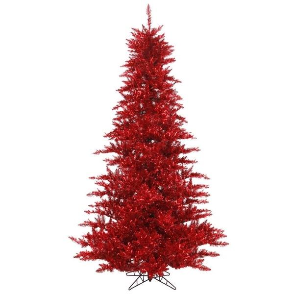 7.5' Medium Profile Red Fir Artificial Christmas Tree - Unlit