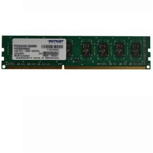 Patriot Memory PSD34G16002 Ddr3 4gb Pc3 12800 1600mhz