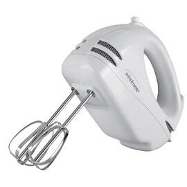 Windmere 5 Speed White 100 Watt Hand Mixer