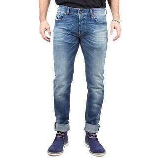 Diesel Sleenker Men's Slim-Skinny Stretch Denim Jeans 0840F