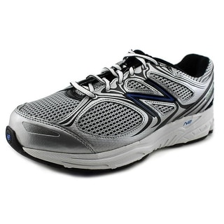 New Balance M840 Men 2E Round Toe Synthetic Silver Running Shoe