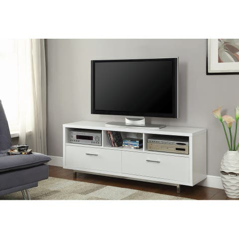 Samfya 60-inch Drawer Storage TV Console