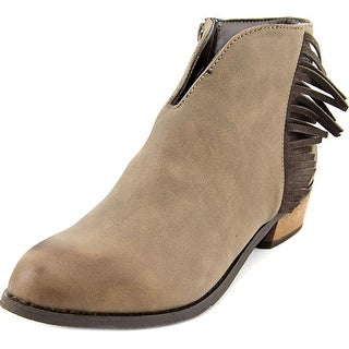 Dirty Laundry Chitchat Round Toe Synthetic Ankle Boot