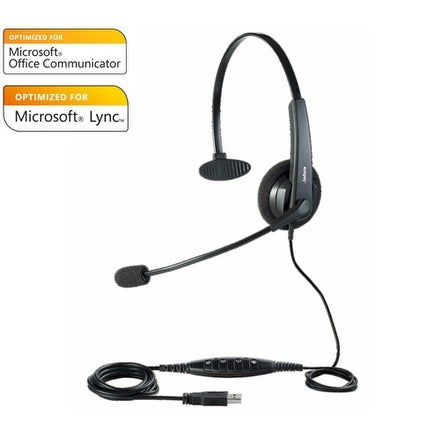 Jabra BIZ 620 Mono Over the Head Headset w/ Microsoft Optimized (Replaced by UC Voice 550)