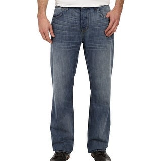 Hudson NEW Blue Betrayal Mens Size 28X34 Relaxed Straight Jeans