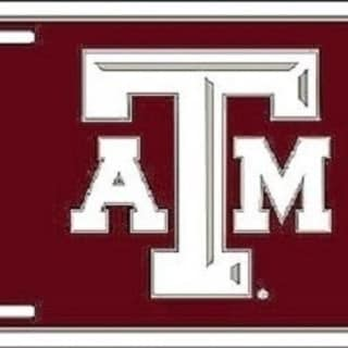 Link to Texas A&M Aggies Ncaa License Plate - M Similar Items in Fan Shop