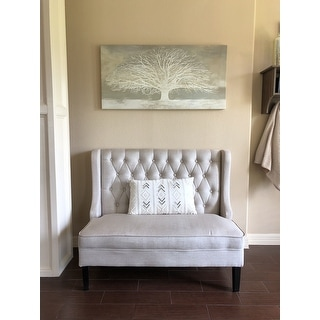 Maison Rouge 'White Tree' Stretched Canvas Artwork