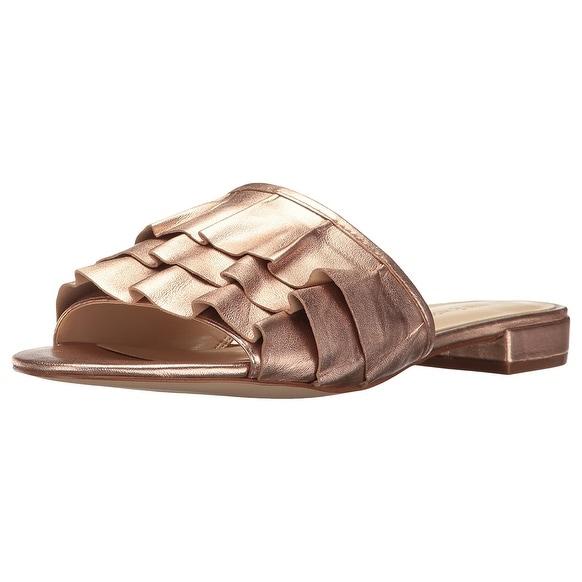 Nine West Womens Ivarene Open Toe Casual Slide Sandals