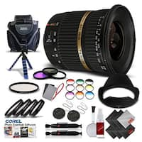 Tamron SP AF 10-24mm f / 3.5-4.5 DI II Lens For Sony International Version (No Warranty) Pro Kit - black