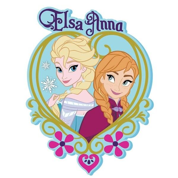 """Disney's Frozen Soft Touch PVC Magnet: """"Elsa & Anna"""" - Multi"""