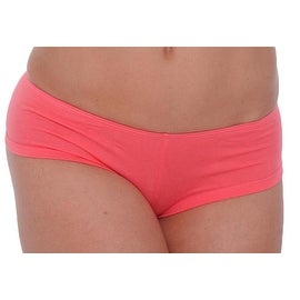 Women's Basic Coral Booty Hot Boy Shorts Panties Sexy Hipster Underwear