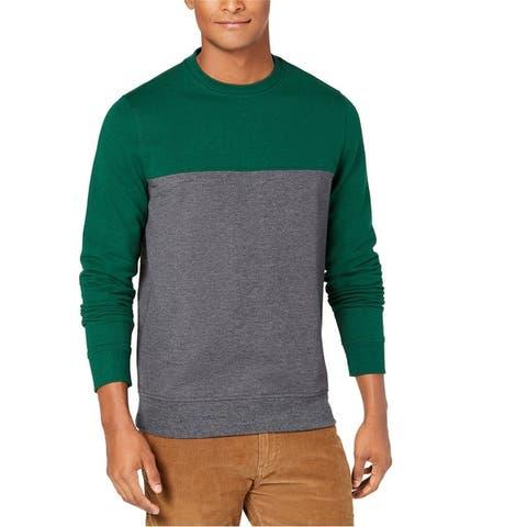 Club Room Mens Color Block Sweatshirt
