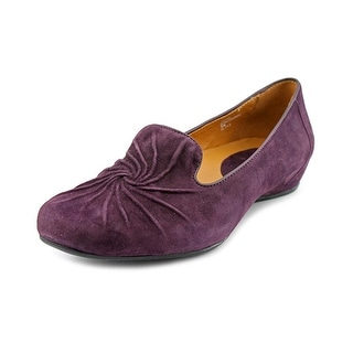 Earthies Zuma Round Toe Suede Loafer