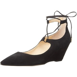 Ivanka Trump Womens Winogrand Suede Pointed Toe Casual Platform Sandals