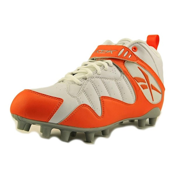 Reebok Pro All Out One Mid MP Men White/Orange Cleats