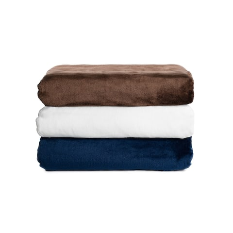 SureFit Home Decor Kimi Plush Throw with Eco-Conscious Spill Repellent