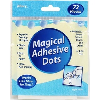 Allary 846-1 Magical Adhesive Dots, 0.5x 5 x 7 in. - 2 per Pack