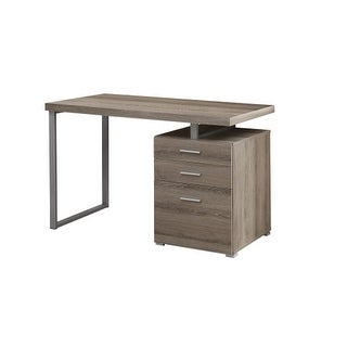 Monarch Specialties I 7326 47 Inch Wide Particle Board Computer Desk with Drawer