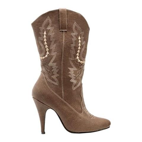 Ellie Women's Cowgirl-418 Brown