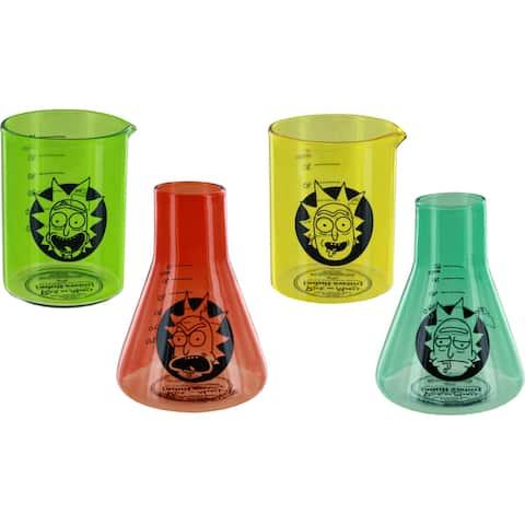 Rick & Morty Laboratory Shot Glass Set