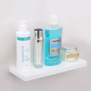 Link to Coat Rack with Shelf, Wall Mounted Entryway Shelf Wall Floating Similar Items in Accent Pieces