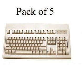 Keytronic Kb E03601p15pk Ps2 Cable With Keytronic Logo Beige 5Pk.
