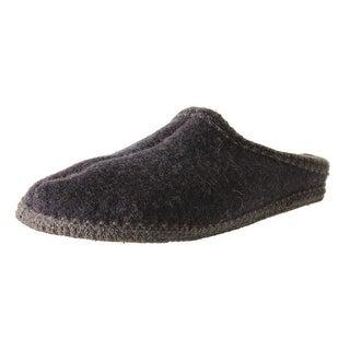 Haflinger Womens Wool Casual Slide Slippers