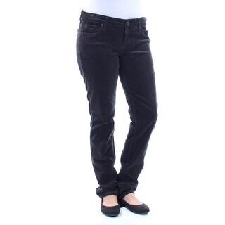 KUT $79 Womens New 1360 Black Zippered Pocketed Corduroy Casual Pants 4 B+B