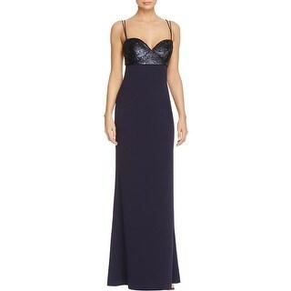 JS Collections Womens Evening Dress Sleeveless Cut Out