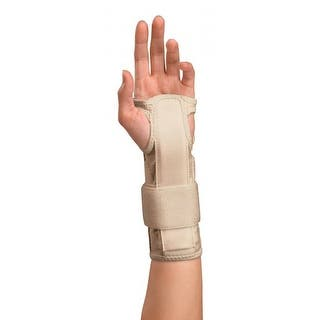 Mueller Carpal Tunnel Wrist Stabilizer - Beige|https://ak1.ostkcdn.com/images/products/is/images/direct/5206530b537384992a5ad9ad3819d89d0bd550a4/Mueller-Carpal-Tunnel-Wrist-Stabilizer---Beige.jpg?impolicy=medium