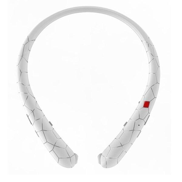 neckband earbuds wireless bluetooth retractable headphones headset sport styledome ear