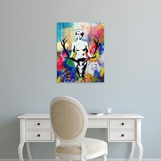 Easy Art Prints AbcArtAttack's 'Racked' Premium Canvas Art
