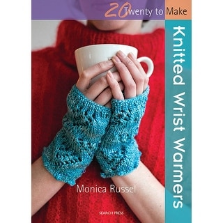 Search Press Books-Knitted Wrist Warmers (20 To Make)
