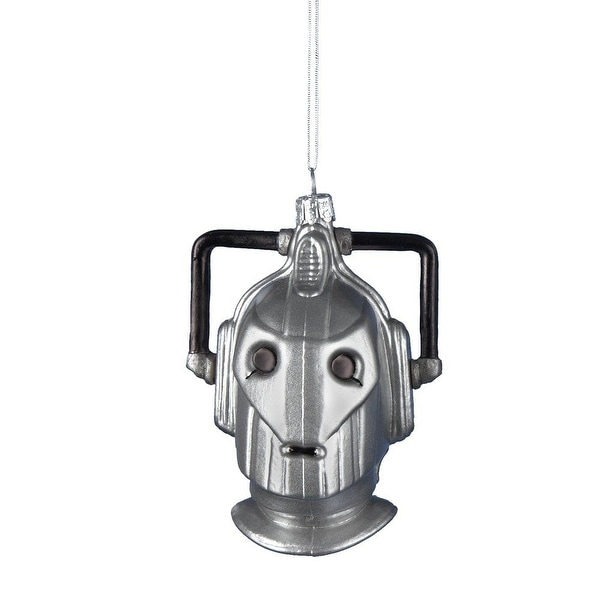 Doctor Who Glass Cyberman Ornament