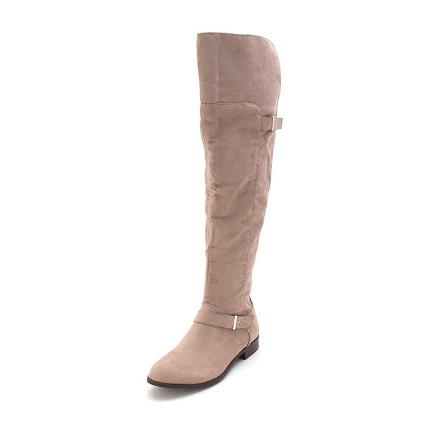 f0a0252e9 Shop Bar III Womens Daphne Closed Toe Knee High Fashion Boots - 7 - Free  Shipping On Orders Over $45 - Overstock - 25738091