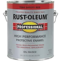 Rust-Oleum Safety Red Pro Enamel 7564-402 Unit: GAL