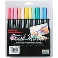 Pastel - Brush Markers 12/Pkg