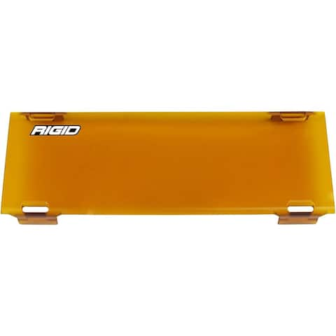 Rigid Industries E-Series RDS-Series and Radiance plus Lens Cover 10 Inch - Amber 110933 10 Inch Radiance - Lens Cover - Amber