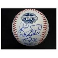 Signed Yankees New York 2009 World Series Champions 2009 Inaugural Stadium Baseball by the 2009 New