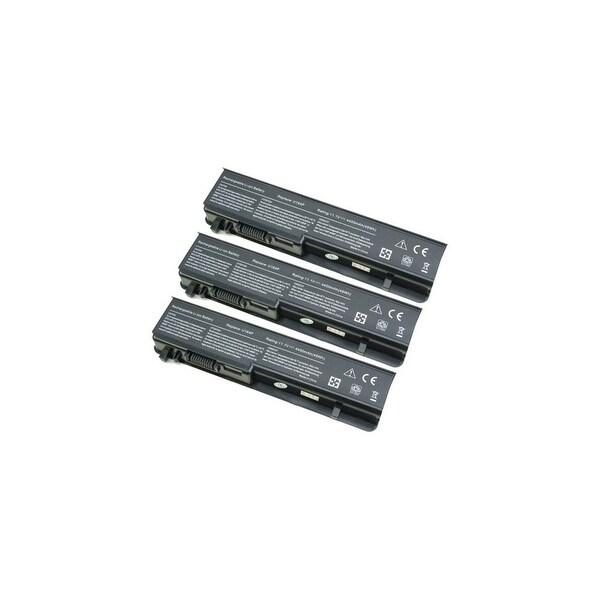 Battery for Dell 312-0196 (3-Pack) Replacement Battery