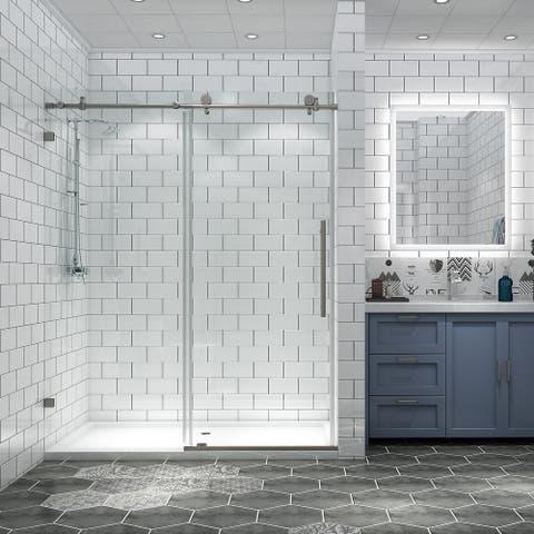Adjustable Frameless Sliding Shower Door