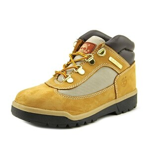 Timberland Field Boot Youth Round Toe Suede Tan Work Boot