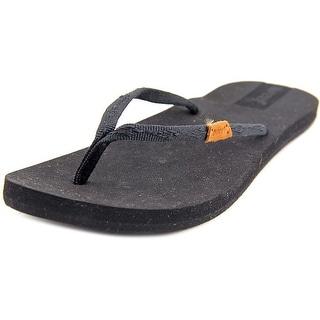 Reef Slim Ginger Stud Women Open Toe Canvas Thong Sandal