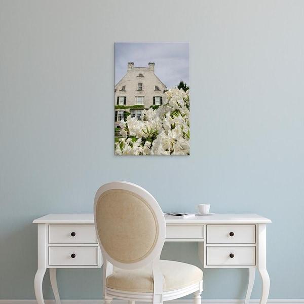 Easy Art Prints Cindy Miller Hopkins's 'Exterior Of Historic Eastman Home And Gardens' Premium Canvas Art