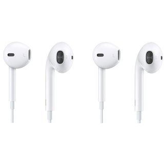 Apple EarPods with Remote and Mic - White (2 Pack)