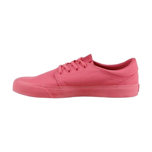 Shop DC Trase Tx Mens Pink Canvas Lace
