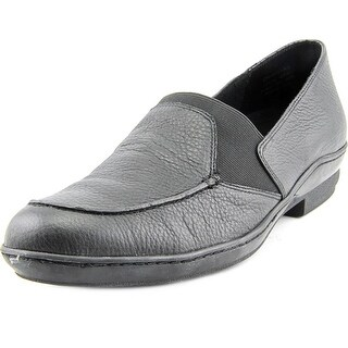 David Tate Stretchy SS Round Toe Leather Loafer