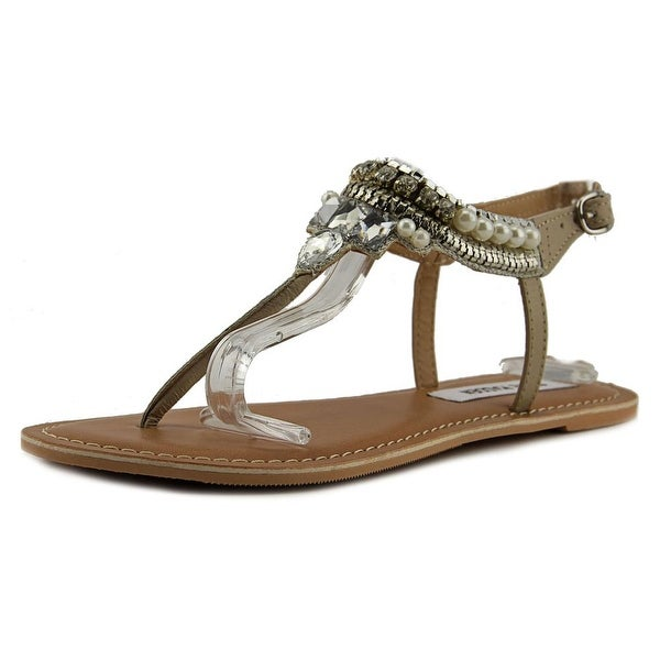 Steve Madden Nita Women Natural Multi Sandals