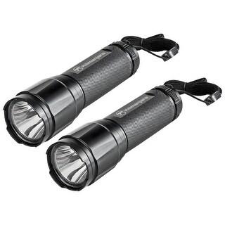 Kilimanjaro 2 Piece Tactical Flashlight Set Cree LED - 910080